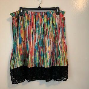 Prabal Gurung for Target Striped Skirt